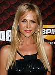 "LOS ANGELES, CA. - October 18: Actress Julie Benz arrives at the Spike TV's ""Scream 2008"" Awards at The Greek Theater on October 18, 2008 in Los Angeles, California."
