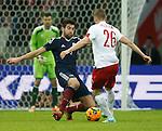 Charlie Mulgrew tackles Lukasz Piszczek