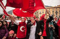 Immigrati di seconda generazione. Generazione G2. Festa turca, Como, 2015