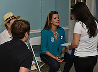 MIAMI, FL - AUGUST 20: Actress and former Miss Universe Alicia Machado campaigns for Hillary Clinton on August 20, 2016 in Miami, Florida. Credit: MPI10 / MediaPunch