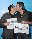 Blake Shelton and Carson Daly at The NBCUNIVERSAL PRESS TOUR ALL-STAR PARTY held at The Athenaeum in Pasadena, California on January 06,2012                                                                               © 2011 Hollywood Press Agency