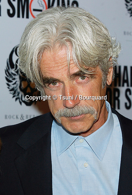Sam Elliot arriving at THANK YOU FOR SMOKING Los Angeles Premiere at the DGA. March 16, 2006.