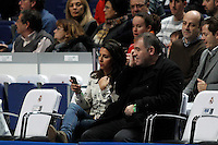 Antonio Garcia Ferreras and Ana Pastor during Euroliga match. February 28,2013.(ALTERPHOTOS/Alconada)