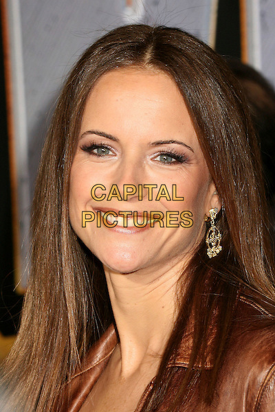 "KELLY PRESTON .""Wild Hogs"" Los Angeles Premiere at the El Capitan Theatre, Hollywood, California, USA..February 27th, 2007.headshot portrait .CAP/ADM/BP.©Byron Purvis/AdMedia/Capital Pictures"