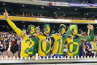 MELBOURNE, 17 JUNE 2009 - Fans cheer on the Australian team at an Asia group 1 qualification match for the FIFA 2010 World Cup between Australia and Japan at the MCG, Melbourne, Australia. 17 June 2009. Photo Sydney Low. This photograph is NOT FOR SALE.