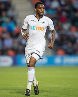 Leroy Fer of Swansea City during the 2017/18 Pre Season Friendly match between Barnet and Swansea City at The Hive, London, England on 12 July 2017. Photo by Andy Rowland.