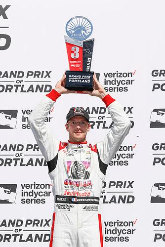 Sébastien Bourdais, Dale Coyne Racing with Vasser-Sullivan Honda, podium