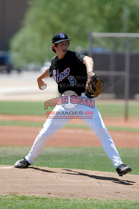 Cody Poteet (San Diego Show) playing in the USA Baseball 16 and Under West Coast Championships at Peoria, AZ and Surprise, AZ - 06/21/2009.Photo by:  Bill Mitchell/Four Seam Images