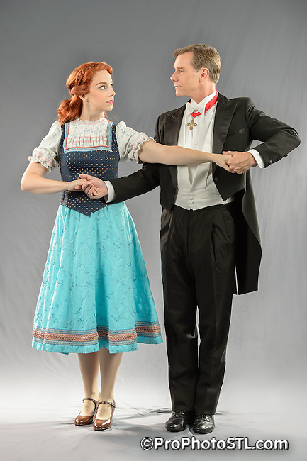 Publicity shots for The Sound of Music musical by STAGES St. Louis.