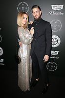 SANTA MONICA, CA - JANUARY 6: Mena Suvari and Michael Hope at Art of Elysium's 11th Annual HEAVEN Celebration at Barker Hangar in Santa Monica, California on January 6, 2018. <br /> CAP/MPI/FS<br /> &copy;FS/MPI/Capital Pictures