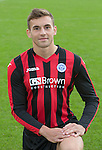 Alex Kitchen, St Johnstone FC...Season 2014-2015<br /> Picture by Graeme Hart.<br /> Copyright Perthshire Picture Agency<br /> Tel: 01738 623350  Mobile: 07990 594431