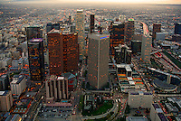 Aerial view of Downtown Los Angeles, California