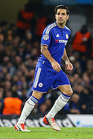 Cesc Fabregas of Chelsea during the UEFA Champions League Group match between Chelsea and Dynamo Kyiv at Stamford Bridge, London, England on 4 November 2015. Photo by David Horn.