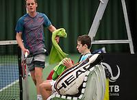 March 15, 2015, Netherlands, Rotterdam, TC Victoria, NOJK, Rik Muller and Deney Wassermann (L)<br /> Photo: Tennisimages/Henk Koster