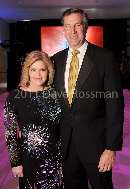 Chairs Kelli and John Weinzierl at the Big Bang Ball at the Houston Museum of Natural Science Saturday March  04,2017. (Dave Rossman Photo)