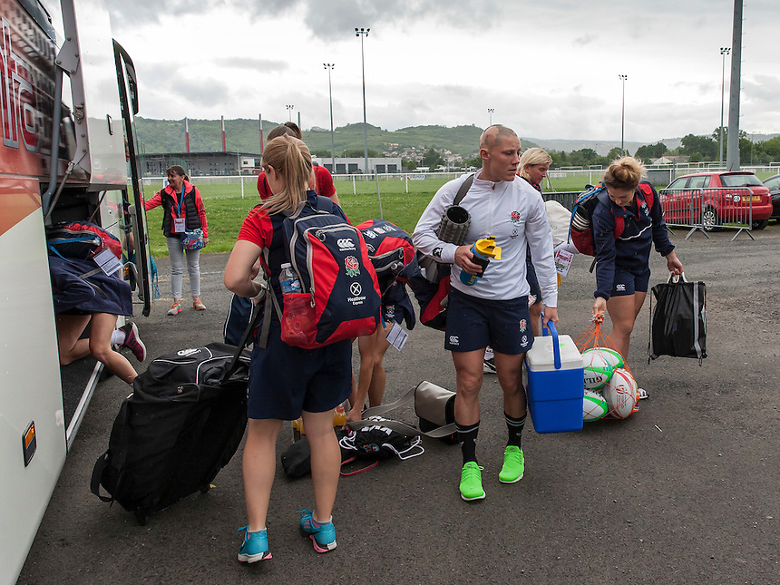World Rugby Women's HSBC Sevens Series, Clermont Ferrand, Day 2, at Stade Gabriel Montpied, Clermont Ferrand, France, on 29th May 2016