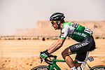 Joel Nicolau Beltran (ESP) Caja Rural-Seguros RGA in action during Stage 1 of the Saudi Tour 2020 running 173km from Saudi Arabian Olympic Committee to Jaww, Saudi Arabia. 4th February 2020. <br /> Picture: ASO/Kåre Dehlie Thorstad | Cyclefile<br /> All photos usage must carry mandatory copyright credit (© Cyclefile | ASO/Kåre Dehlie Thorstad)