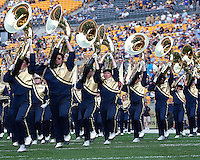 The Pittsburgh Marching Band. The Pittsburgh Panthers defeated the Youngstown State Penguins 38-3 at Heinz Field on September 5, 2009.