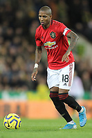 Ashley Young of Manchester United during the Premier League match between Norwich City and Manchester United at Carrow Road on October 27th 2019 in Norwich, England. (Photo by Matt Bradshaw/phcimages.com)<br /> Foto PHC/Insidefoto <br /> ITALY ONLY