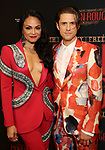 """Karen Olivo and Aaron Tveit attends the Broadway Opening Night performance After Party for """"Moulin Rouge! The Musical"""" at the Hammerstein Ballroom on July 25, 2019 in New York City."""