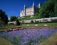 Dunrobin Castle, Highland Coast, Scotland, UK