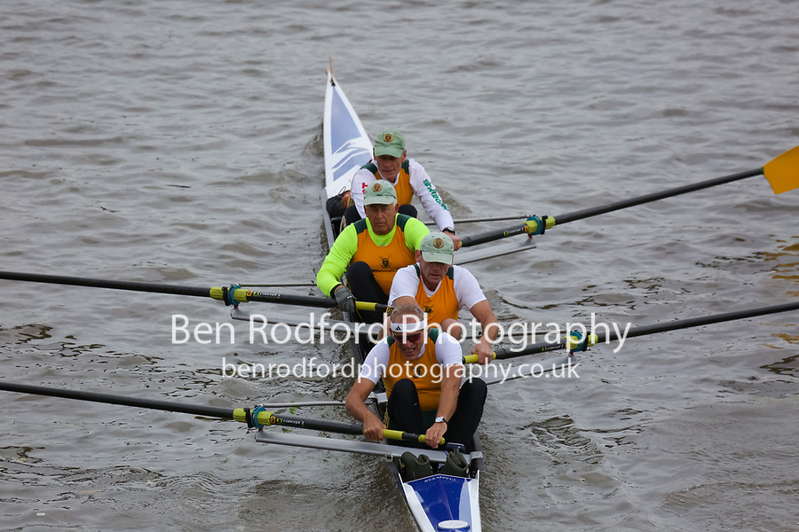 Crew: 183  Norwich  F 4+<br /> <br /> Veteran Fours Head 2018<br /> <br /> To purchase this photo, or to see pricing information for Prints and Downloads, click the blue 'Add to Cart' button at the top-right of the page.
