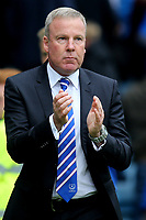 Portsmouth Manager, Kenny Jackett, applauds the away fans at the end of the match during Gillingham vs Portsmouth, Sky Bet EFL League 1 Football at the MEMS Priestfield Stadium on 8th October 2017