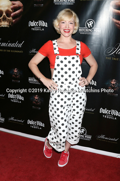 """LOS ANGELES - JUL 30:  IMG at the """"Illuminated:  The True Story of the Illuminati""""  at the The Venue on July 30, 2019 in Los Angeles, CA"""