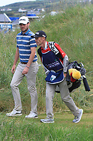 Cormac Sharvin (NIR) on the 15th during Round 4 of the Irish Open at LaHinch Golf Club, LaHinch, Co. Clare on Sunday 7th July 2019.<br /> Picture:  Thos Caffrey / Golffile<br /> <br /> All photos usage must carry mandatory copyright credit (© Golffile | Thos Caffrey)