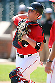August 18 2008:  Austin Maddox (19) of the Team One team during the 2008 Under Armour All-American Game at Wrigley Field in Chicago, Illinois.  (Copyright Mike Janes Photography)
