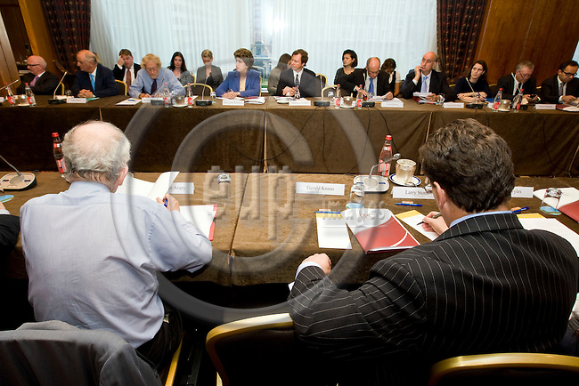 BRUSSELS - BELGIUM - 01 OCTOBER 2008 --  European Policy Centre (EPC) Governing Board meeting. -- . -- PHOTO: JUHA ROININEN / EUP-IMAGES