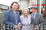 Maurice Eileen and Danny Hannon pictured at Listowel races on Sunday.