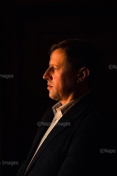 Kobylin Borzymy 26.11.2016 Poland<br /> Mayor of Kobylin Borzymy small region in the eastern Poland Wojciech Mojkowski<br /> <br /> Photo: Adam Lach / Napo Images for GEO Magazine