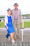 Listowel Races : Attending ladies day at Listowel Races on Sunday last were Eileen & Roger Worster from Listowel.