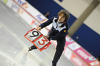 SCHAATSEN: CALGARY: Olympic Oval, 10-11-2013, Essent ISU World Cup, Bart Veldkamp (trainer/coach Team Stressless), ©foto Martin de Jong