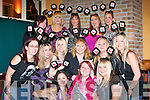 HEN; Tracey Joy from Old Marian Park, Tralee who held her Hen night in Hennessey's Bar, Tralee on Saturday night with Tracey were: Yvonne O'Sullivan, Fiona Cashman, mary O'Sullivan, Karen O'Sullivan, Sandra O'Sullivan, Debra Walsh, Caitriona Roche, Barbara and Ciara Kissane, Ciara and Joanna Conlon, Louise Herbert and Kate O'Donnell...   Copyright Kerry's Eye 2008