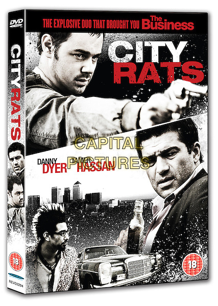 DVD COVER ART.in City Rats.*Filmstill - Editorial Use Only*.CAP/PLF.Supplied by Capital Pictures.