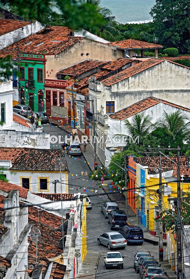 Casas em Olinda. Pernambuco. 2009. Foto de Caetano Barreira.