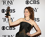Rebecca Taichman poses at the 71st Annual Tony Awards, in the press room at Radio City Music Hall on June 11, 2017 in New York City.