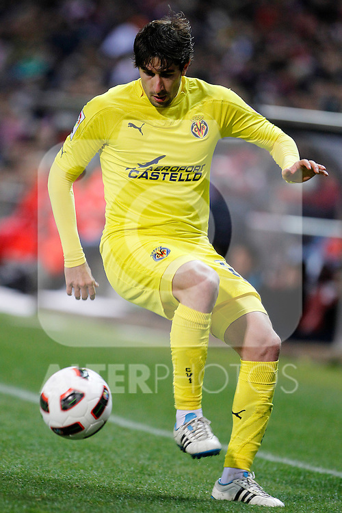 Villareal's Cani during La Liga match.March 5,2011. (ALTERPHOTOS/Acero)