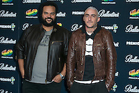 Carlos Jean and DJ Nano attend the 40 Principales Awards at Barclaycard Center in Madrid, Spain. December 12, 2014. (ALTERPHOTOS/Carlos Dafonte) /NortePhoto