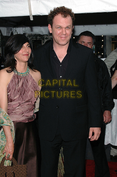 "JOHN C. REILLY & GUEST.Arrive at the premiere of her new film, ""Dark Water"", at the Clearview Chelsea West Cinema in Manhattan, New York, New York, USA, 27June 2005..half length.Ref: ADM.www.capitalpictures.com.sales@capitalpictures.com.©Patti Ouderkirk/AdMedia/Capital Pictures."