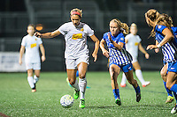 Allston, MA - Wednesday Sept. 07, 2016: Lynn Williams, Brittany Ratcliffe during a regular season National Women's Soccer League (NWSL) match between the Boston Breakers and the Western New York Flash at Jordan Field.