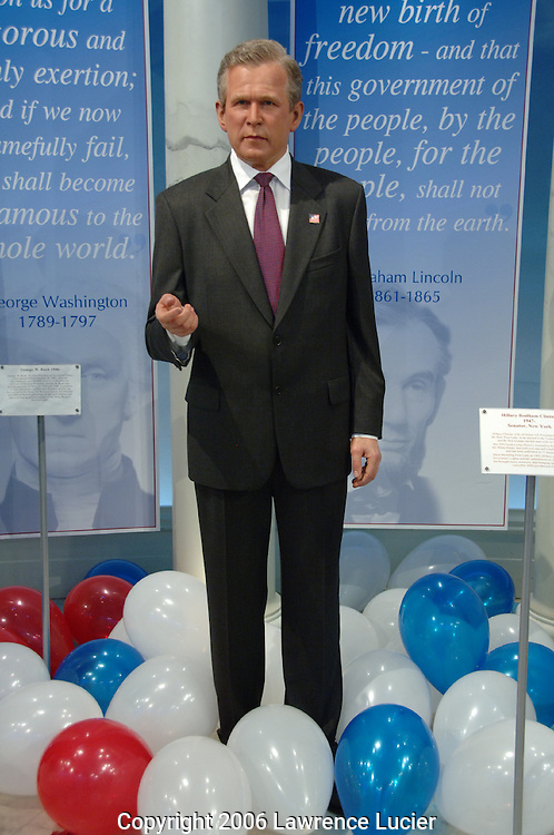 George Bush's wax figure