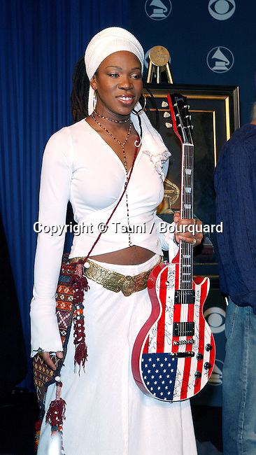 India.Arie at 44th Grammy nominee press conference at the Beverly Hilton Hotel in Los Angeles Friday, Jan. 4, 2002.           -            IndiaArie04.jpg