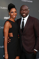 BURBANK, CA - AUGUST 29: Conisha Wade, Omar J Dorsey<br />