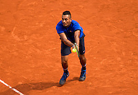 NICK KYRGIOS (AUS)<br /> <br /> TENNIS - FRENCH OPEN - ROLAND GARROS - ATP - WTA - ITF - GRAND SLAM - CHAMPIONSHIPS - PARIS - FRANCE - 2016  <br /> <br /> <br /> <br /> &copy; TENNIS PHOTO NETWORK