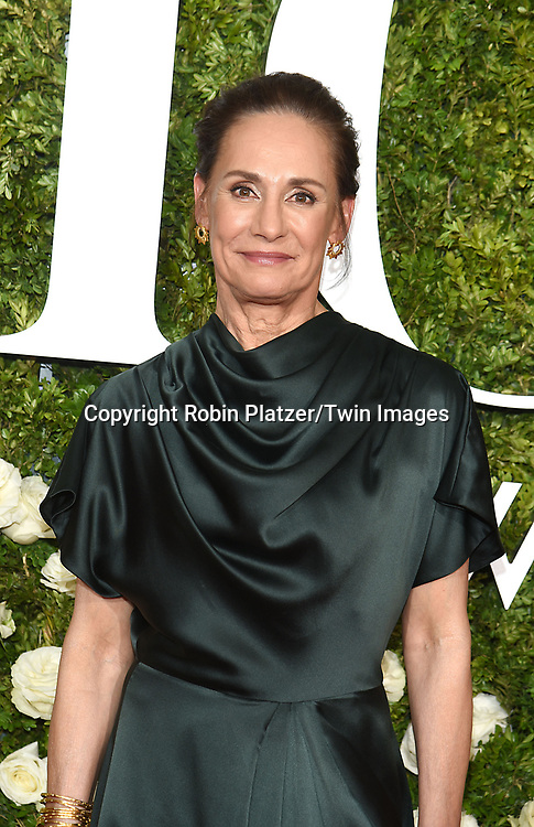 Laurie Metcalf attends the 71st Annual  Tony Awards on June 11, 2017 at Radio City Music Hall in New York, New York, USA.<br /> <br /> photo by Robin Platzer/Twin Images<br />  <br /> phone number 212-935-0770
