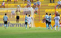 OSASCO, SP, 04 JANEIRO 2011 - COPA SAO PAULO DE FUTEBOL JUNIOR 2012 - <br /> Lance da partida entre as equipes do Grêmio FPA-RS x Oratório RC-AP realizada no Estádio Municipal José Liberatti em Osasco (SP), válida pela 1ª Rodada do Grupo S da Copa São Paulo de Futebol Junior 2012, nesta quarta-feira, 04. (FOTO: FRANCISCO CEPEDA - NEWS FREE).
