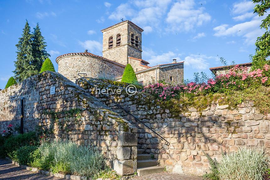 France, Loire (42), Saint-Étienne, Saint-Victor-sur-Loire, l'église